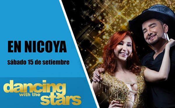 Estrellas de Dancing with the Stars compartirán con los nicoyanos